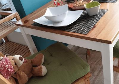 Étkező bútors összeszerelés